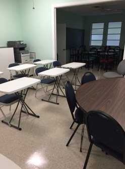 Classroom at The Study Center